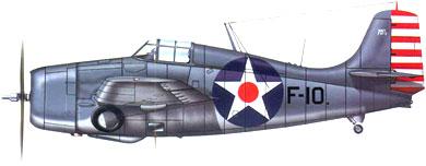 Profil couleur du Grumman F4F Wildcat