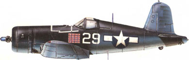Profil couleur du Vought F4U Corsair