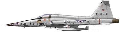 Profil couleur du Northrop F-5 Tiger II