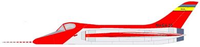 Profil couleur du Douglas F5D Skylancer
