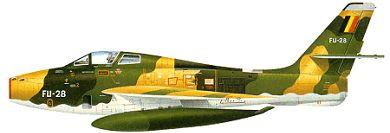 Profil couleur du Republic F-84F Thunderstreak