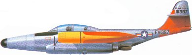 Profil couleur du Northrop F-89 Scorpion
