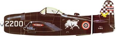 Profil couleur du Grumman F8F Bearcat