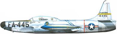 Profil couleur du Lockheed F-94 Starfire