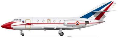 Profil couleur du Dassault Mystère XX / Falcon 20