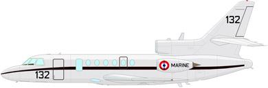 Profil couleur du Dassault Aviation Falcon 50M