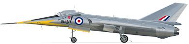 Profil couleur du Fairey  Delta 2