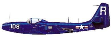 Profil couleur du McDonnell FH Phantom
