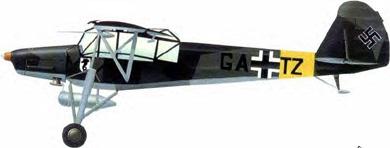 Profil couleur du Fieseler Fi 156 Storch
