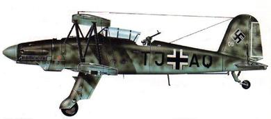 Profil couleur du Fieseler Fi 167
