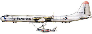Profil couleur du Convair GRB-36 « FICON » & Republic GRF-84