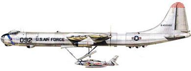 Profil couleur du Convair GRB-36 «FICON» & Republic GRF-84