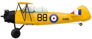 Profil couleur du Fleet 16 Finch