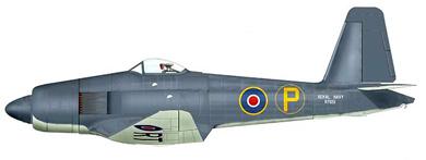 Profil couleur du Blackburn B-48 Firecrest