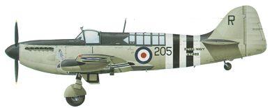 Profil couleur du Fairey  Firefly
