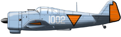 Profil couleur du Koolhoven FK-58