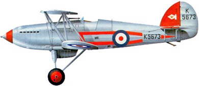 Profil couleur du Hawker  Fury