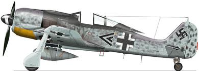 Profil couleur du Focke-Wulf Fw 190