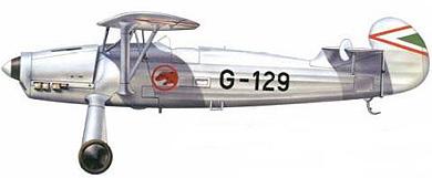 Profil couleur du Focke-Wulf Fw 56 Stösser
