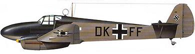 Profil couleur du Focke-Wulf Fw 58 Weihe