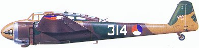 Profil couleur du Fokker G.I