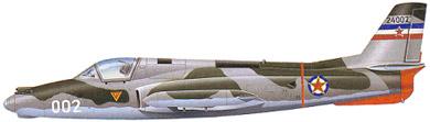Profil couleur du Soko G-2 Galeb