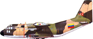 Profil couleur du Aeritalia G.222
