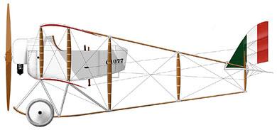 Profil couleur du Caudron G.III