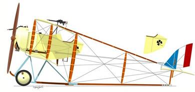 Profil couleur du Caudron G.4
