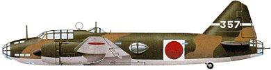 Profil couleur du Mitsubishi G4M  'Betty'