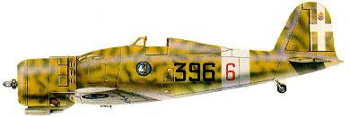 Profil couleur du Fiat G.50 Freccia
