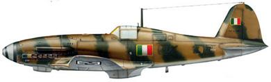 Profil couleur du Fiat G.55 Centauro