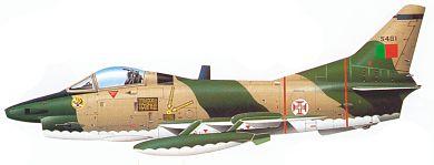 Profil couleur du Fiat G.91