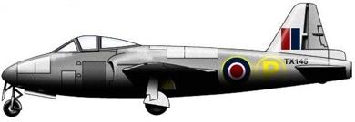 Profil couleur du Gloster GA.2 Ace