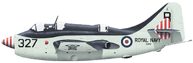 Profil couleur du Fairey  Gannet
