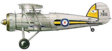 Profil couleur du Gloster SS.19B Gauntlet