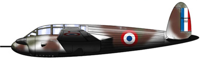 Profil couleur du Hanriot H-232