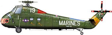 Profil couleur du Sikorsky H-34 Choctaw