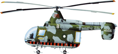 Profil couleur du Kaman H-43 Huskie