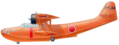 Profil couleur du Aichi H9A