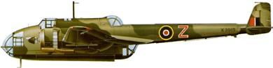 Profil couleur du Handley Page HP.52 Hampden