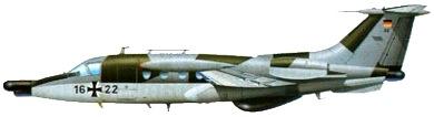 Profil couleur du MBB HFB-320 Hansa Jet