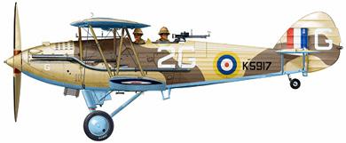 Profil couleur du Hawker  Hardy