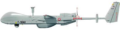Profil couleur du EADS Harfang