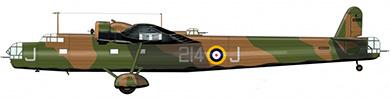 Profil couleur du Handley Page HP.54 Harrow