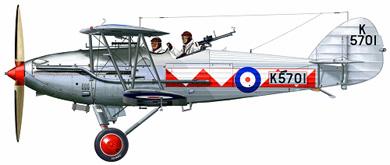 Profil couleur du Hawker Hart
