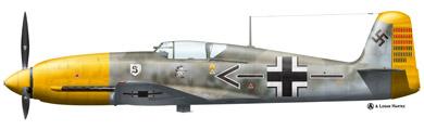 Profil couleur du Heinkel He 100