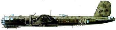 Profil couleur du Heinkel He 177 Greif
