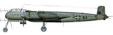 Profil couleur du Heinkel He 219 Uhu