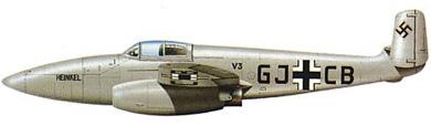 Profil couleur du Heinkel He 280